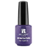 Red Carpet Manicure Throw Some Glitter On It Gel Polish
