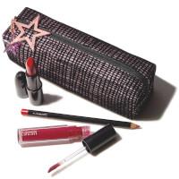 MAC Starlit Lip Bag - Red (Worth £47)