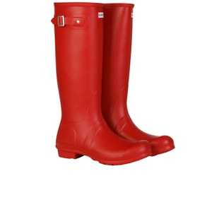 Hunter Women's Original Tall Wellies - Red