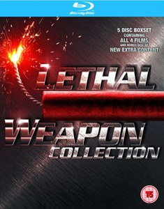 Lethal Weapon 1-4 Box Set
