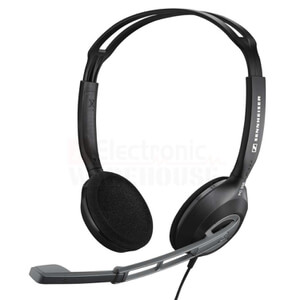 Sennheiser PC 230 On-Ear Gaming Headset with Noise Cancelling Mic - Black