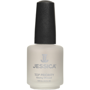 Esmalte top coat Jessica Top Priority Glazing Ultra Sealer 14.8ml