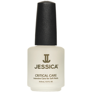 Base de uñas y top coat Jessica Critical Care - uñas suaves 14.8ml