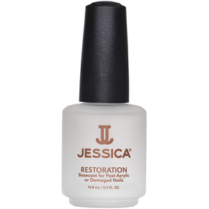 Jessica Restoration Basecoat For Post-Acrylic/Damaged Nails- 14.8ml