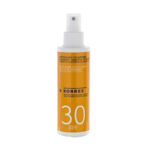 Korres Yoghurt Sunscreen Face and Body Emulsion SPF30 (150ml)