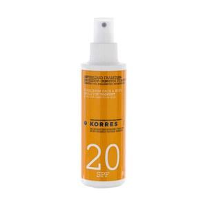 Korres Yoghurt Sunscreen Face and Body Emulsion SPF20 (150ml)