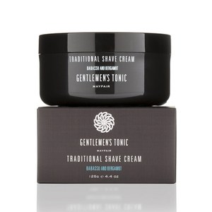 GENTLEMEN'S TONIC TRADITIONAL SHAVE CREAM (125G)
