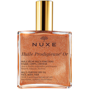 NUXE Huile Prodigieuse Or - Multi Usage Dry Oil - Golden Shimmer (50 ml)