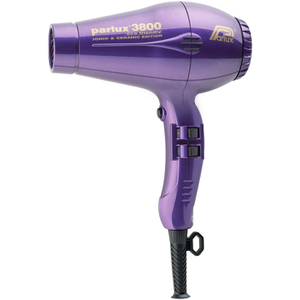 PARLUX 3800 CERAMIC AND IONIC 2100W HAIRDRYER - PURPLE