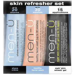 men-ü Skin Refresher - 15ml (3 Products)