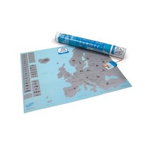 Scratch Map Euro