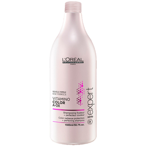 L'Oreal Professionnel Serie Expert Vitamino Color Conditioner (750ml) and Pump