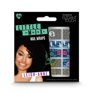 Elegant Touch Little Mix faux ongles nail art - Leigh-Ann Nail Wraps