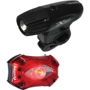 Moon XP300 Front & Shield Rear Set USB Light Set