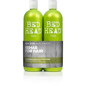 TIGI Bed Head Re-Energise Tween Duo (2x750ml) (Worth £49.45)
