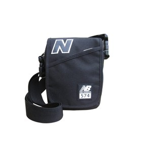 New Balance 574 Satchel - Black/Black