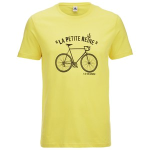 Le Coq Sportif Tour de France N9 Short Sleeved T-Shirt - Yellow