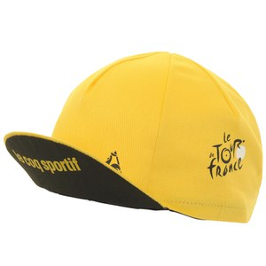 Le Coq Sportif Tour de France Cycling Cap - Yellow