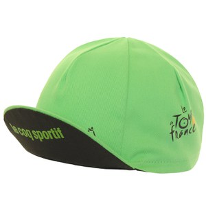 Le Coq Sportif Tour de France Cycling Cap - Green