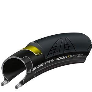 Continental Grand Prix 4000S II Clincher Road Tyre - Black
