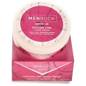 Crema de afeitado Sicilian Lime de Men Rock (100 ml)