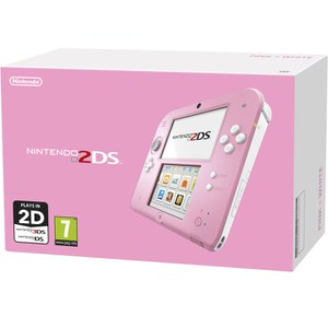 Nintendo 2DS Console (Pink + White)