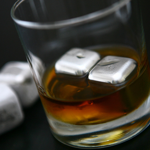 SPARQ Stainless Steel Whisky Cubes (Set of 4)