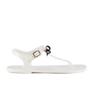 Ted Baker Women S Verona Bow Jelly Sandals Cream Black
