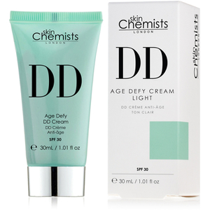skinChemists Age Defying DD Cream with SPF 30 - Light (30ml)