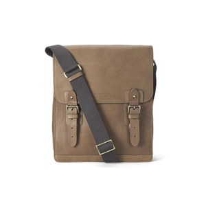 Aspinal of London Men's Small Shadow Messenger Bag - Tan