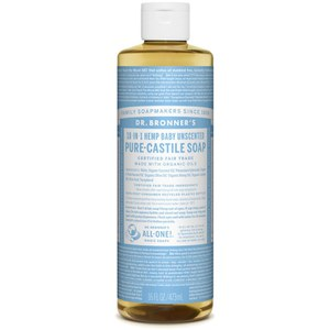 Dr. Bronner Organic Baby-Mild Cast Liquid Soap (473ml)