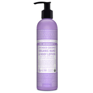 Dr. Bronner Organic Lavender and Coconut Lotion (236ml)