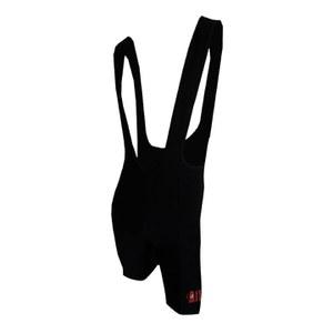 Pella La Mitica Woolen Bib Shorts - Black