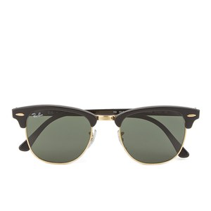 Ray-Ban Clubmaster Sunglasses - Ebony/Arista