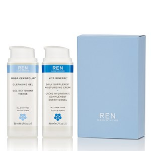REN Cleanse and Nourish Duo (Worth: £23.70)