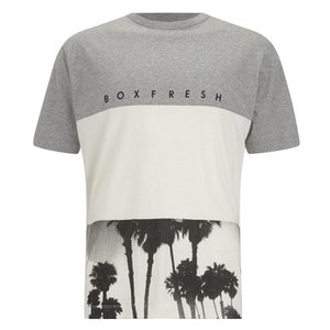 Boxfresh Men's Lozell T-Shirt - Black/White/Grey