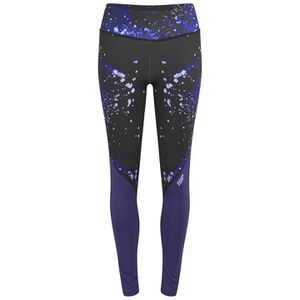 Myprotein Women's Printed Block Leggings - Purple