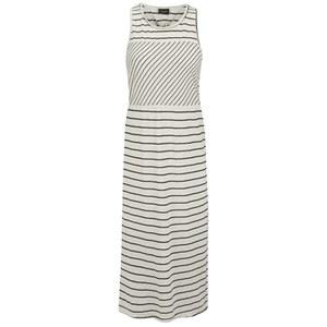 VILA Women's Trille Striped Dress - Pristine