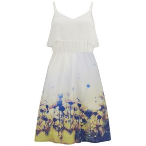 Vero Moda Women's Daisy Floral Dress - Yellow Daisy