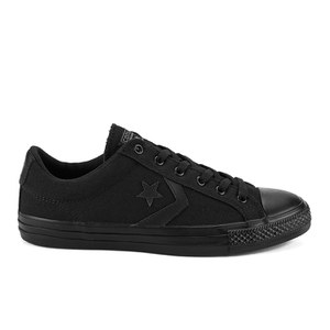 Converse CONS Men's Star Player Mono Canvas Trainers - Black Monochrome