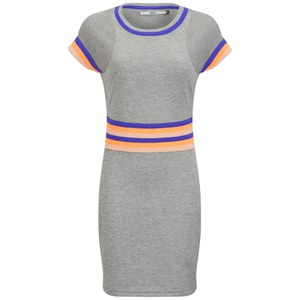 ONLY Women's Stanhope Sporty Shift Dress - Grey