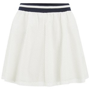 ONLY Women's Sofie PU Skirt - Cloud Dancer