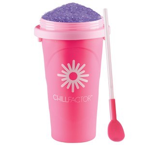 Tutti Frutti Chill Factor Slushy Maker - Pink