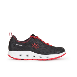 Columbia Womens Megavent Hybrid Shoes - Black/Red Hibiscus