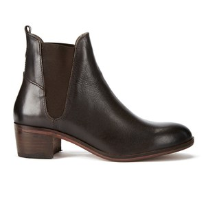 H Shoes by Hudson Women's Compound Leather Chelsea Boots - Brown