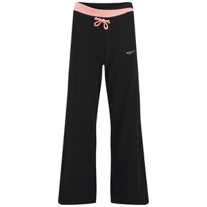 Gola Women's Monica Wide Leg Training Pants - Black/Coral