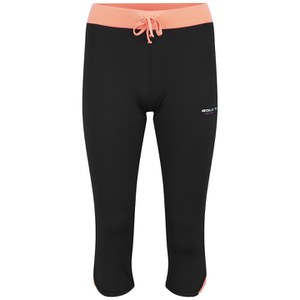 Gola Women's Vonn Training Capri - Black/Coral
