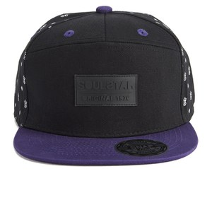 Soul Star Men's MH SSTR Cross Cap - Black