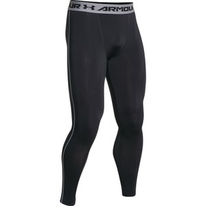 Under Armour Men's Armour HeatGear Compression Training Leggings - Black/Steel