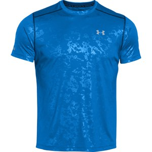 Under Armour Men's Coldblack Short Sleeve Running T-Shirt - Blue Jet/Reflective